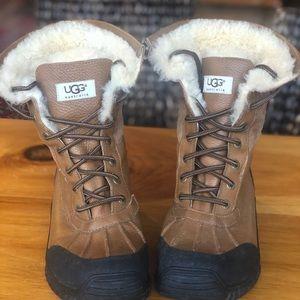 Ugh Snow Boots: Adirondack Boot. Chestnut